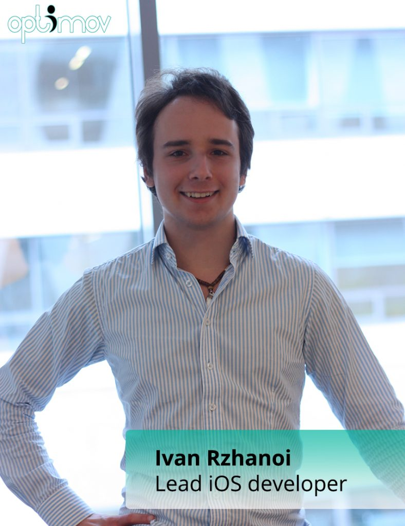 Optimov's iOS Developer - Ivan