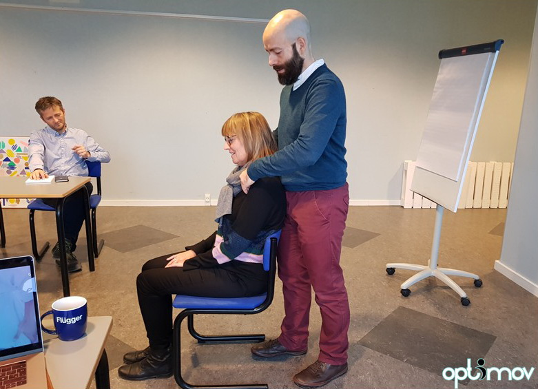 massage ergonomics workshop Optimov