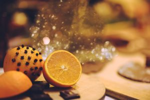 Stressfree Christmas orange cloves